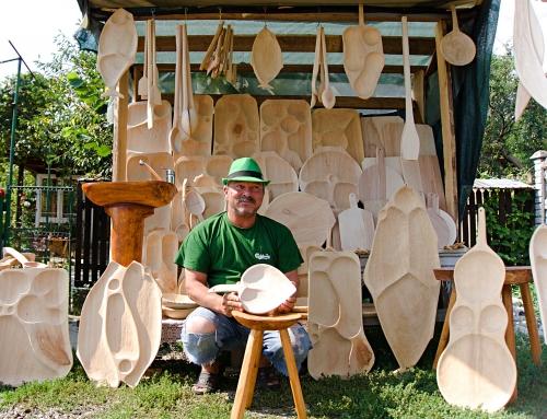 Video interviu Adrian Madem, meșter în prelucrarea lemnului