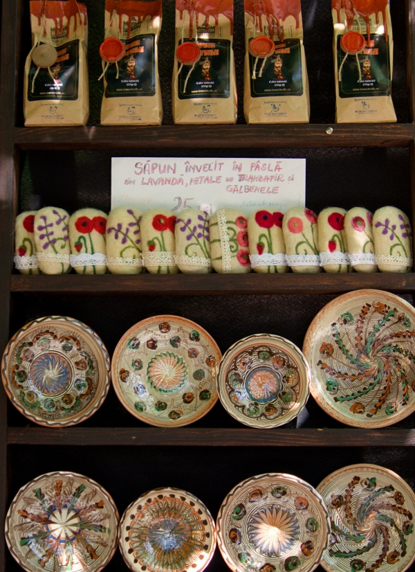 Where to buy authentic souvenirs in Sighișoara